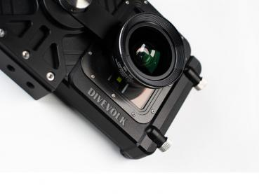 DIVEVOLK SeaLense Wide-angle Wet lens for SeaTouch Pro, 105° underwater (needs 37 mm adapter)