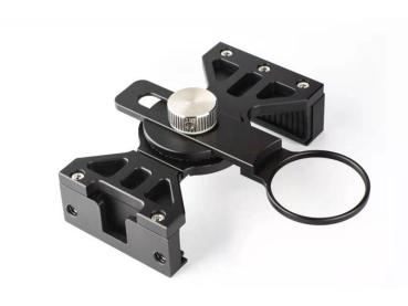 DIVEVOLK SeaHold aluminium clamp including 37 mm lens adapter for Pioneer or Pro housing DAC models