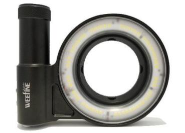 WeeFine WF058 RING LIGHT 3000 Ringblitz und Licht