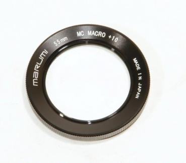 MARUMI 55mm MC +10 High Grade Macro Close Up Lens