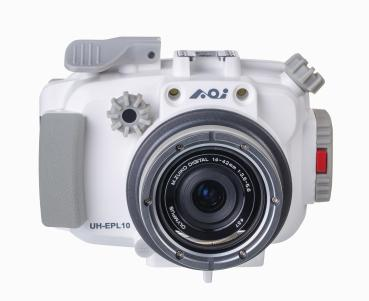AOi UH-EPL10 Underwater Housing OLYMPUS PEN E-PL 9/10 - white