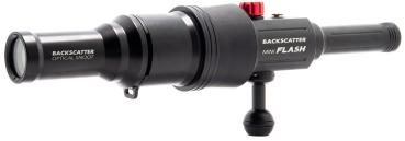 Backscatter Mini Flash 1 & Optical Snoot Combo Package