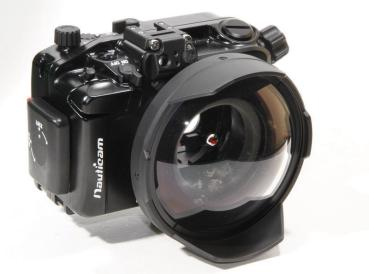 D&D NAUTICAM Mirrorless IL Housing - INON 115 Front Dome Port Adapter