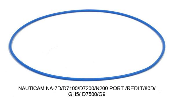 D&D O-RING NAUTICAM HOUSING O-RING NA-7D/D7100/D7200/N200 PORT /REDLT/80D/GH5/D7500/G9