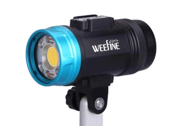 WeeFine Smart Fokus 6000 LED Strobe Licht mit WFA41 Snoot